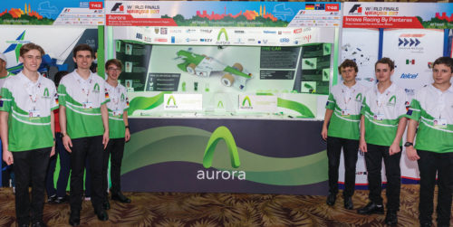 F1 Racing car Aurora team