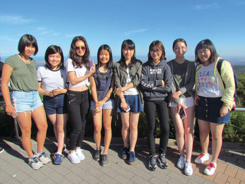 International Students at Mount Lofty