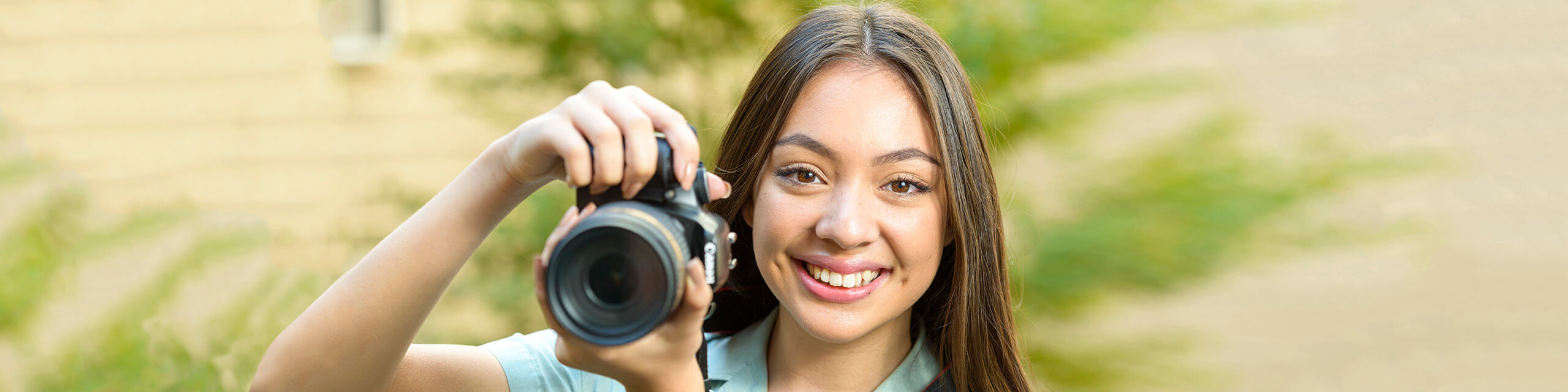 Photography student - Brighton Secondary School