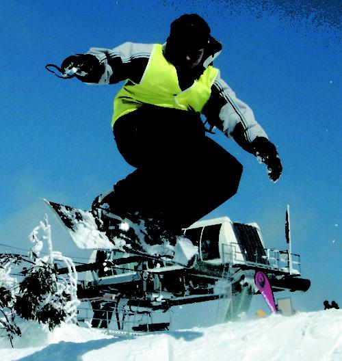 Student on Ski Trip