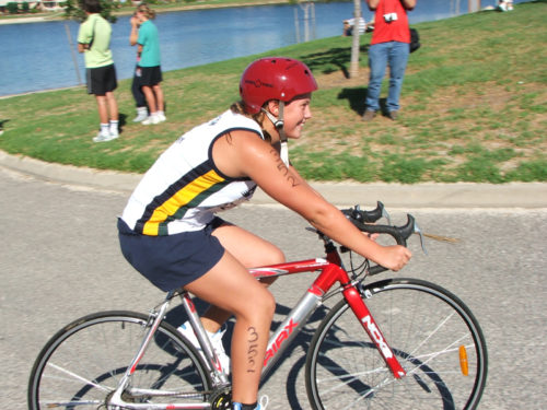 School Sports Student cycling